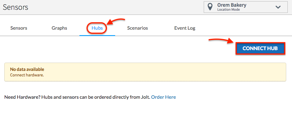 Configure Hub From Web Portal