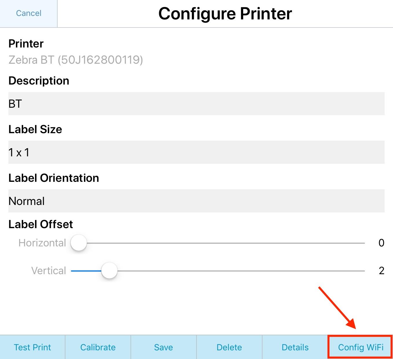 Jolt Classic: Zebra Printer | iPad 2 Setup